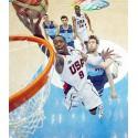 Redes de baloncesto